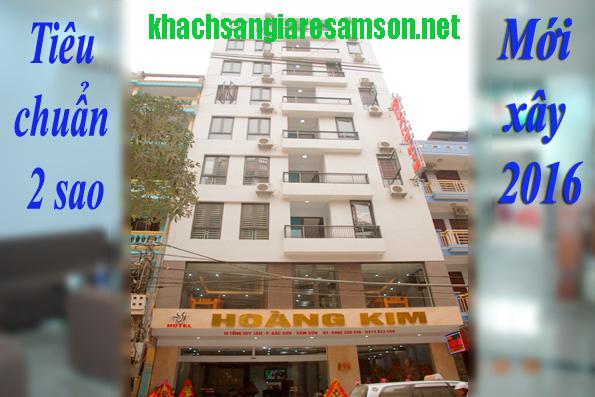Khách sạn Hoàng Kim Sầm sơn