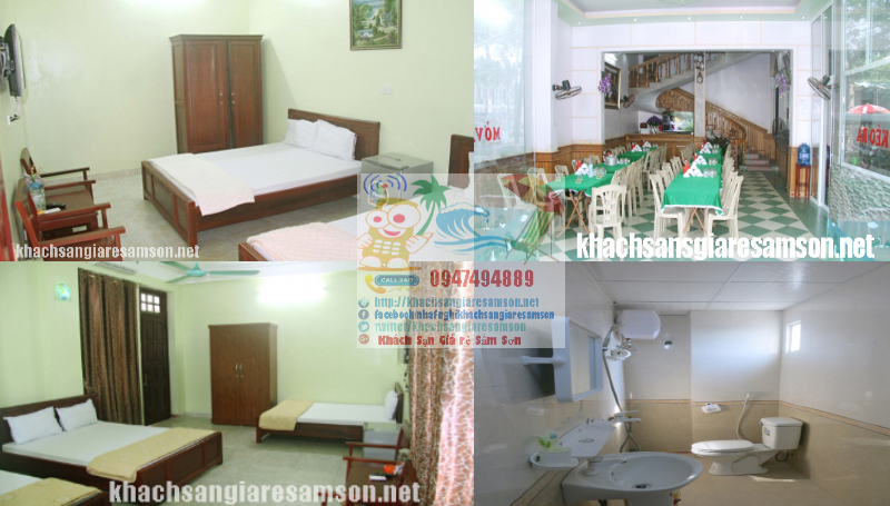 Nhà Nghỉ Khách Sạn Gần Biển Sầm Sơn giá rẻ sạch đẹp